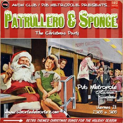 Sponge Patrullero