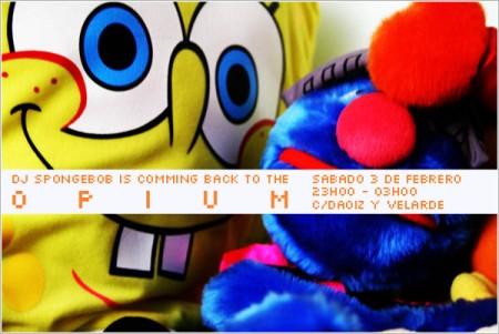 Dj SpongeBob Opium Santander
