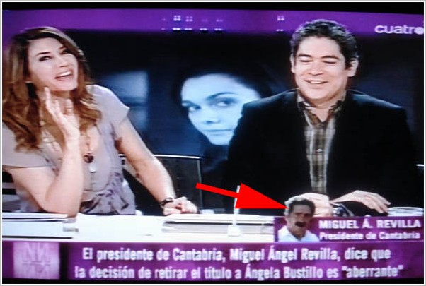Foto de Revilla en Cuatro