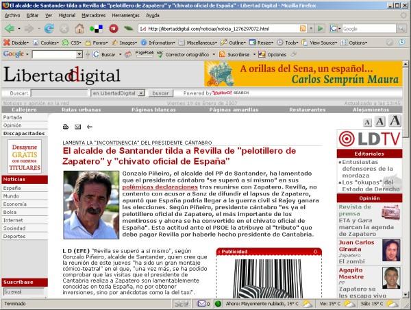 Mi foto de Revilla en Libertad Digital