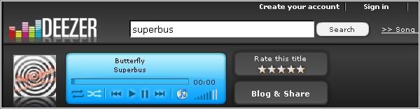 Deezer MP3 gratis