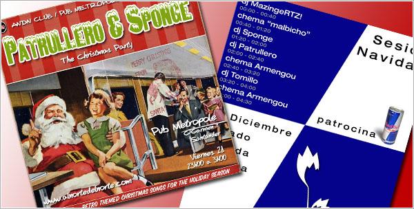 Sponge Navidad Santander