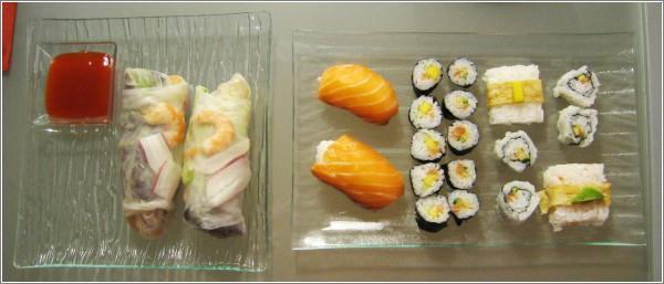 Mi primer plato de sushi