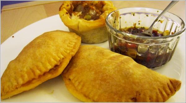Empanadas argentinas y Chimichurri