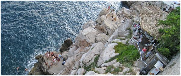 Terraza en Dubrovnik