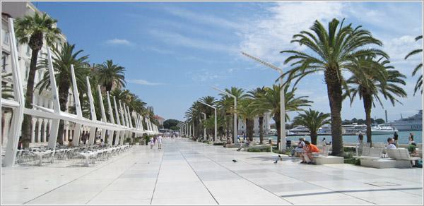 Paseo marítimo, Split, Croacia