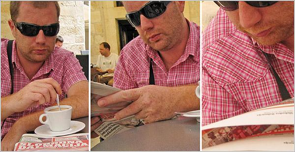 Café por Dubrovnik, Croacia