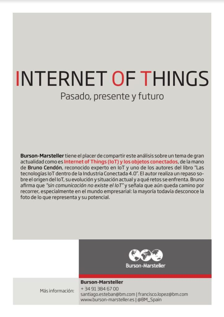 Paper - Internet of Things - Pasado presente y futuro