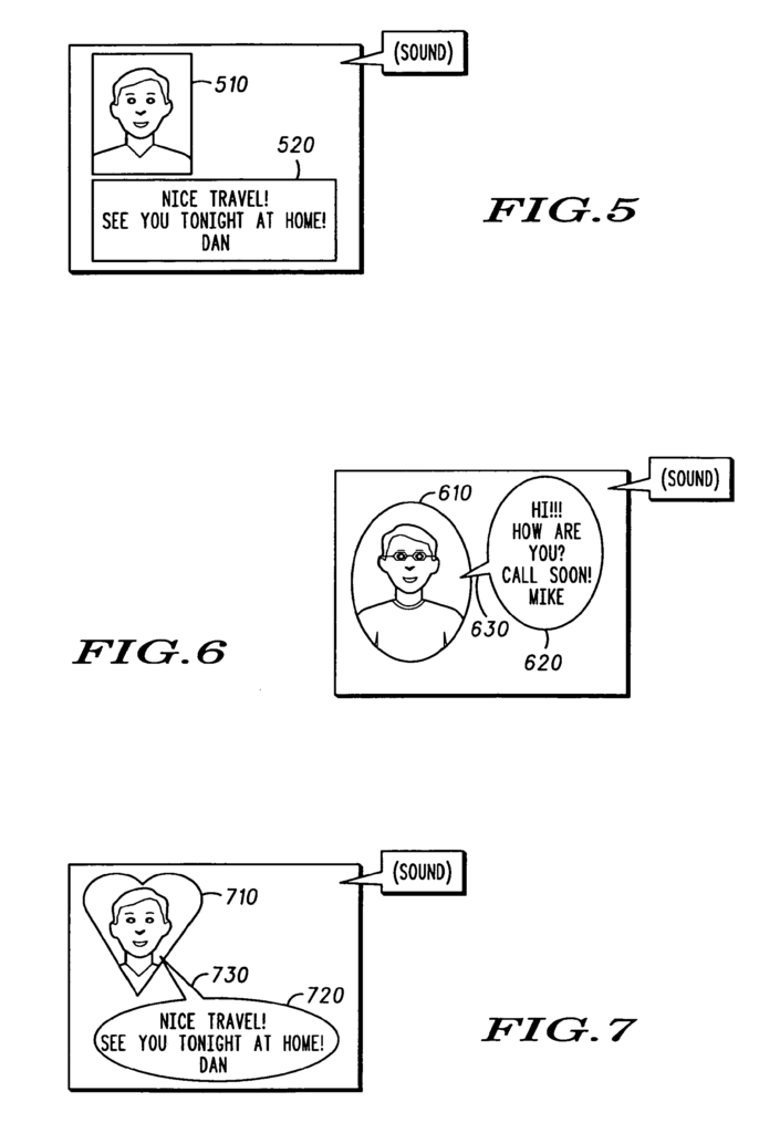 Patente - Image content region reconfiguration data messages and methods therefor